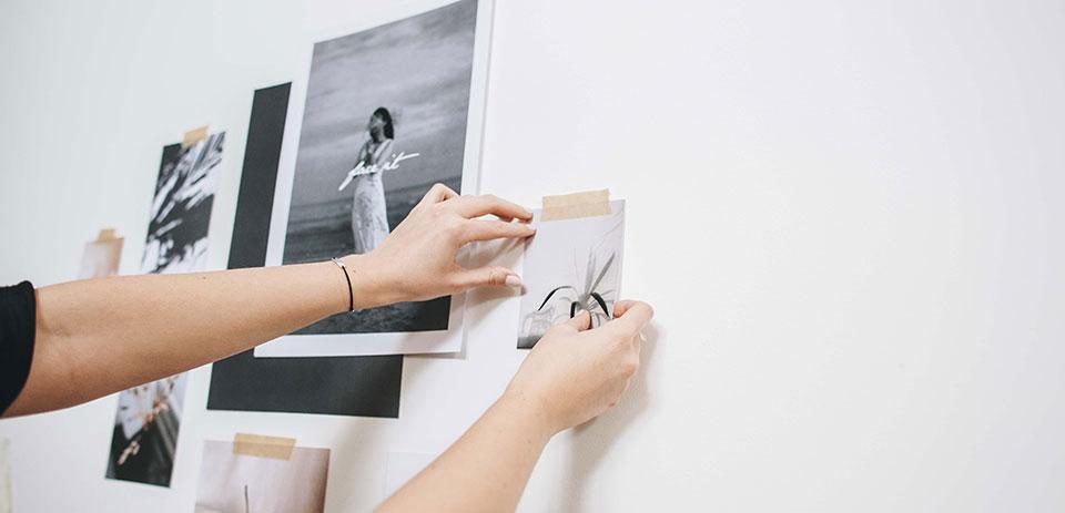 Nanuc Design trabajando en fotografías