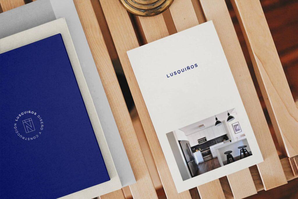 Lusquiños Diseño y Construcción - Proyecto Branding - Nanuc Design